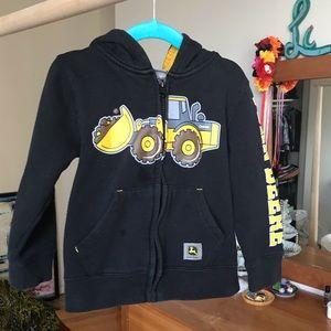 John Deere zip hoody